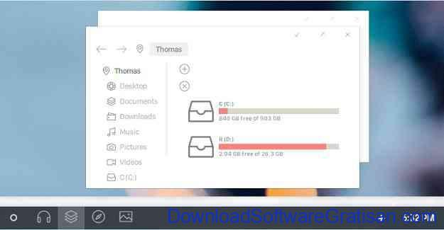Tema Gratis Terbaik Windows 10 oxford