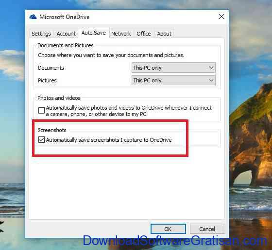 onedrive automatic save