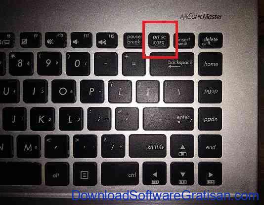 print screen laptop keyboard