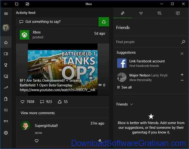 xbox app windows 10 2