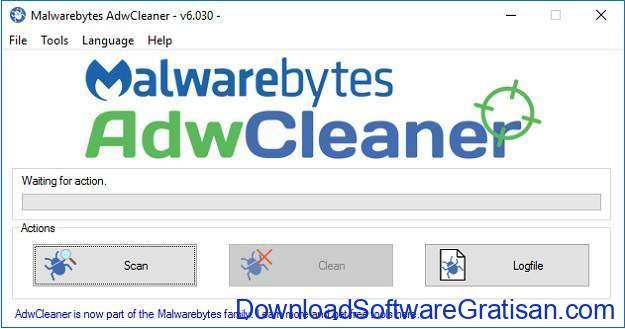 Aplikasi Anti Malware untuk PC adwcleaner