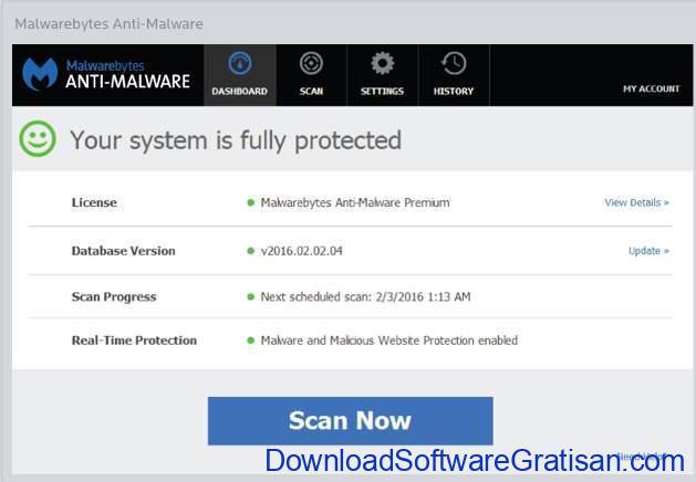 Aplikasi Anti Malware untuk PC mbam