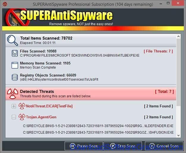 Aplikasi Anti Malware untuk PC superantispyware
