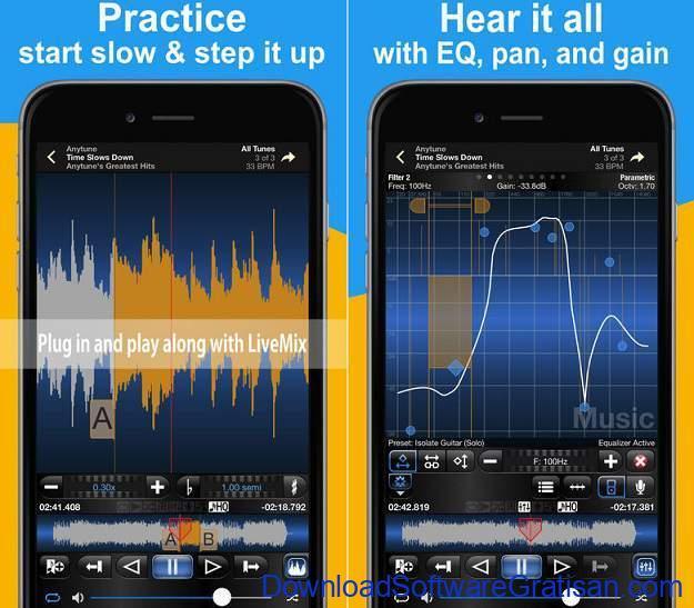 Aplikasi Gitar Terbaik Android dan iPhone aplikasi gitar anytune