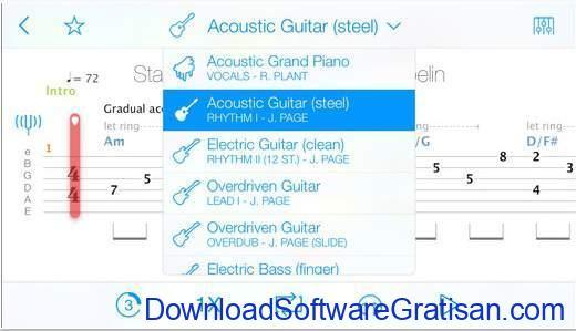 Aplikasi Gitar Terbaik Android dan iPhone songsterr tabs chords