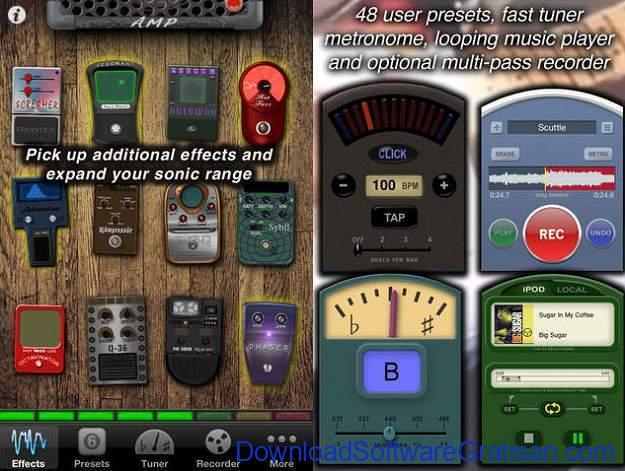 Aplikasi Gitar Terbaik Android dan iPhone aplikasi gitar ishred live