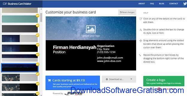 cara-mudah-membuat-kartu-nama-online-business-card-maker