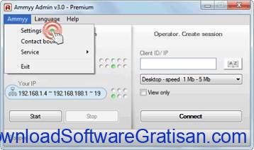 Aplikasi Remote Desktop Gratis Terbaik untuk PC ammyy