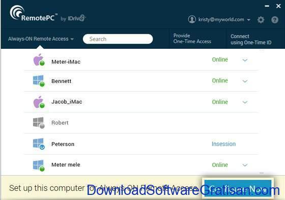 Aplikasi Remote Desktop Gratis Terbaik untuk PC remotepc