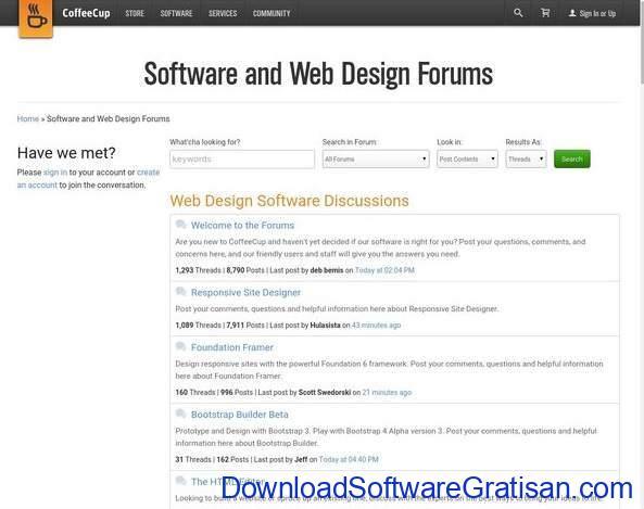 Forum Terbaik untuk Web Designer Coffee Cup