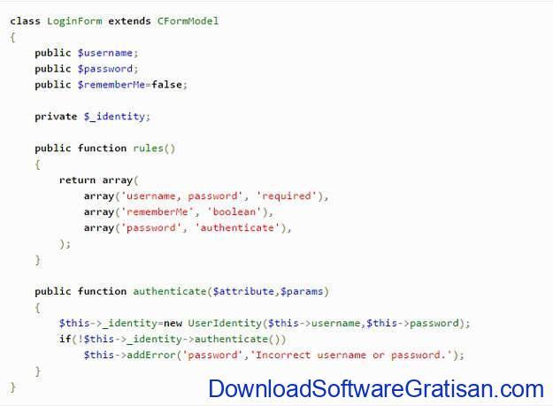 framework-php-terbaik-yiiframework