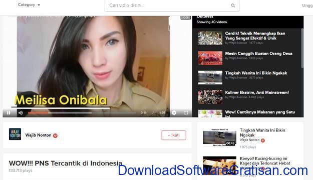 Situs Berbagi Video Gratis Selain Youtube VIDIO