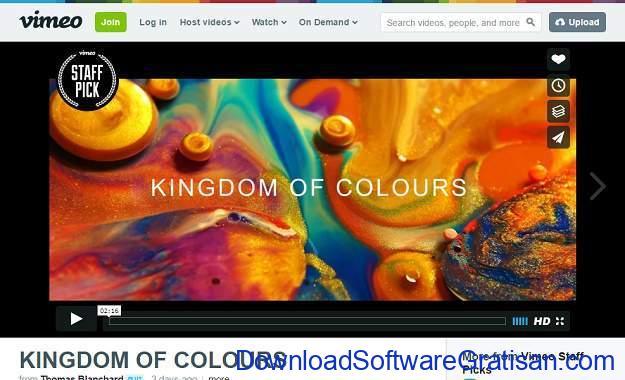 Situs Berbagi Video Gratis Selain Youtube vimeo