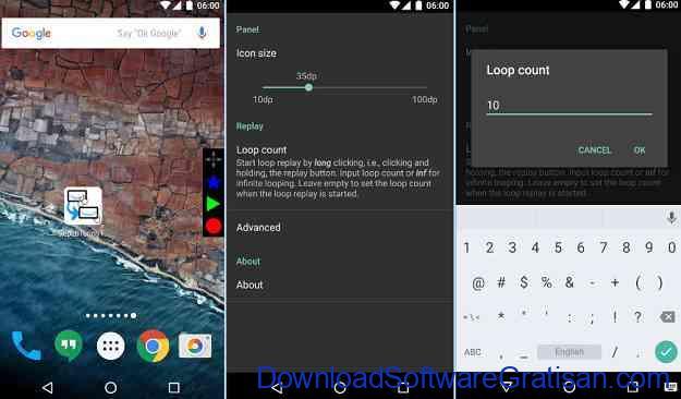 Aplikasi Gratis Otomasi Perangkat Android repeti Touch