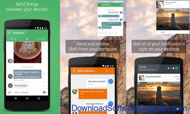 Aplikasi Terbaik untuk Menghubungkan Komputer ke Android Push Bullet