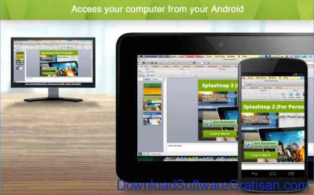Aplikasi Terbaik untuk Menghubungkan Komputer ke Android Splashtop