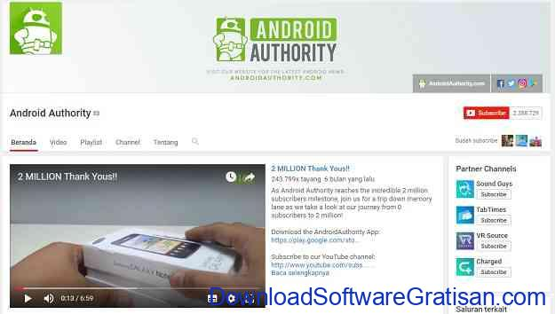 channel-teknologi-youtube-androidauthority