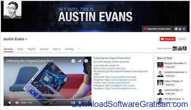 channel-teknologi-youtube-austin-evans