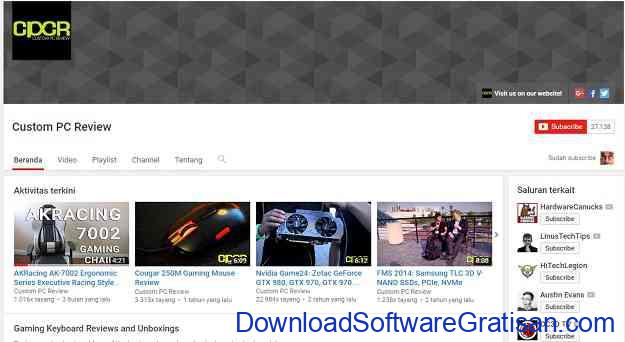 channel-teknologi-youtube-custompcreview