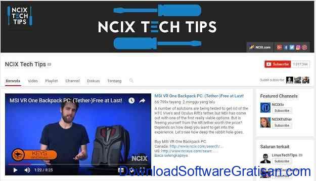 channel-teknologi-youtube-ncix-tech-tips