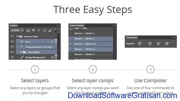 Ekstensi atau Plugin Gratis untuk Photoshop Composer