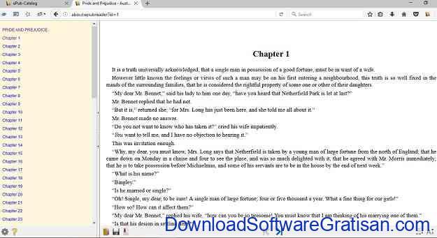 Cara Membaca Ebook .ePub di Chrome dan Firefox