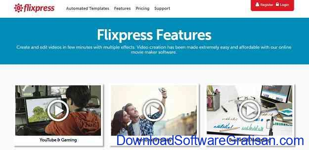 Situs untuk Download Video Intro & Footage Gratis Flix Press
