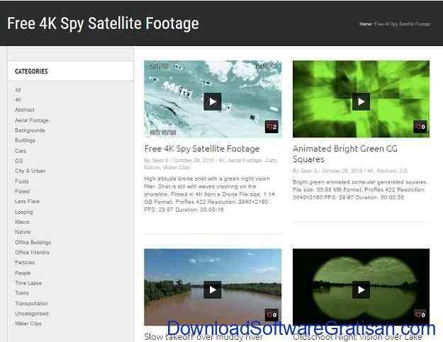 Situs untuk Download Video Intro & Footage Gratis Free Footage