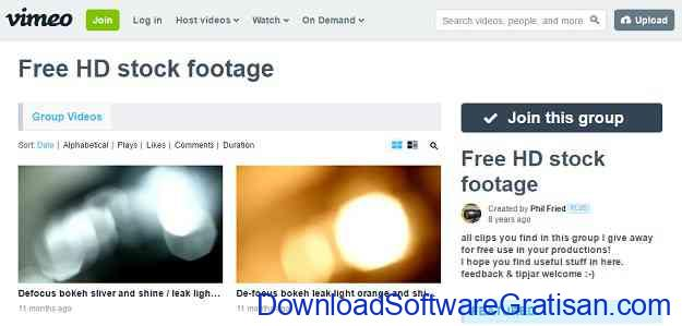 Situs untuk Download Video Intro & Footage Gratis Free HD Stock Footage