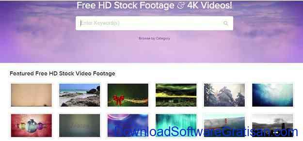 Situs untuk Download Video Intro & Footage Gratis Videezy