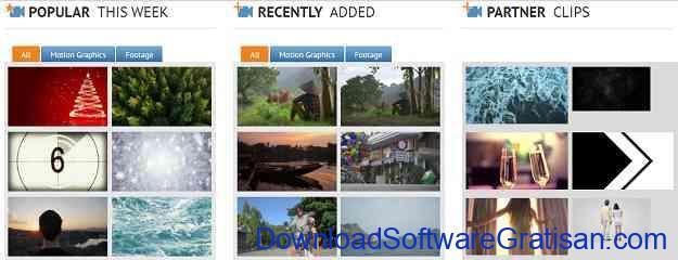 Situs untuk Download Video Intro & Footage Videvo