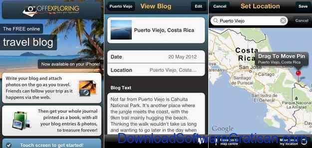 Aplikasi Jurnal Perjalanan Wisata Off Exploring
