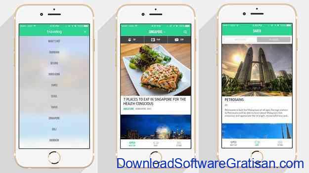 Aplikasi Jurnal Perjalanan Wisata Travelog
