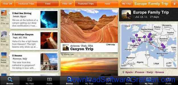 Aplikasi Jurnal Perjalanan Wisata TripColor