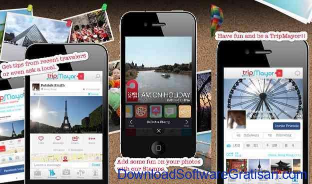 Aplikasi Jurnal Perjalanan Wisata TripMayor
