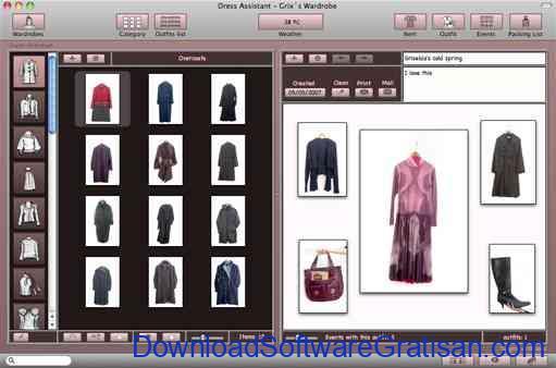 Aplikasi untuk Desain Designer Dress Assistant