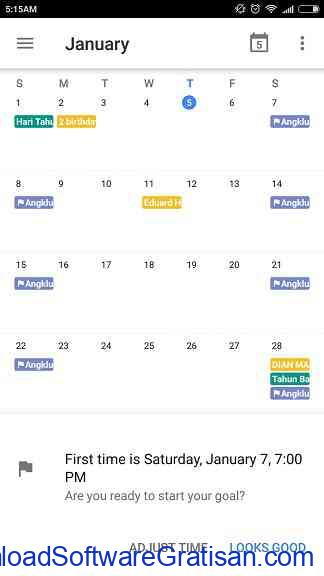 Cara Menetapkan Tujuan Pada Google Calendar Step 10
