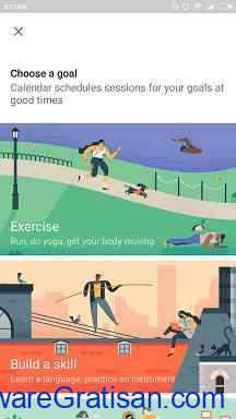 Cara Menetapkan Tujuan Pada Google Calendar Step 3