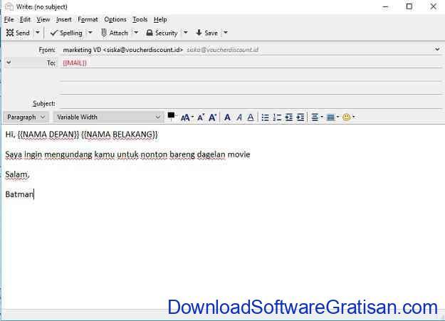 Cara Mengirim Email ke Banyak Orang Sekaligus Buat Draft
