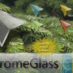 Tema Kursor Mouse Gratis Terbaik untuk Windows Chrome Glass