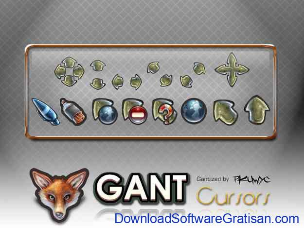 Tema Kursor Mouse Gratis Terbaik untuk Windows GANT