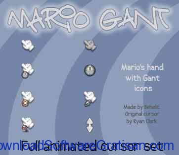 Tema Kursor Mouse Gratis Terbaik untuk Windows Mario Gant