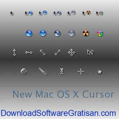 Tema Kursor Mouse Gratis Terbaik untuk Windows New Mac OS X Cursors