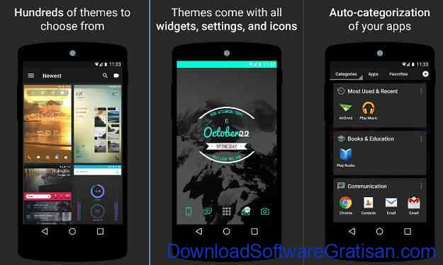Theme atau Tema Android Gratis Themer