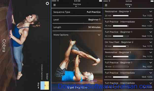 Aplikasi Yoga Gratis Terbaik untuk Android Yoga Down Dog Great Yoga Anywhere
