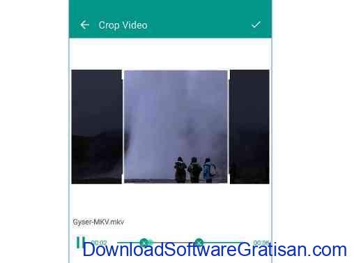 Aplikasi Crop Video untuk Android Crop Video by GB Infotech