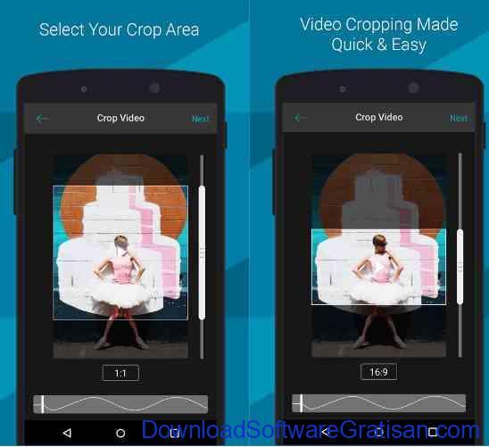 Aplikasi Crop Video untuk Android Video Crop - Landscape Maker