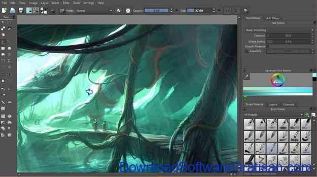 Aplikasi Desain Grafis Gratis Terbaik untuk PC Krita