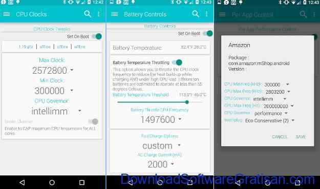 Aplikasi Overclock CPU Android Terbaik Faux123 Kernel Enhancement
