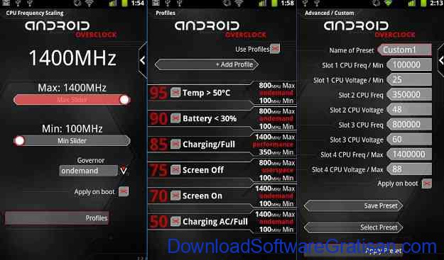 Aplikasi Overclock CPU Android Terbaik Overclock for Android
